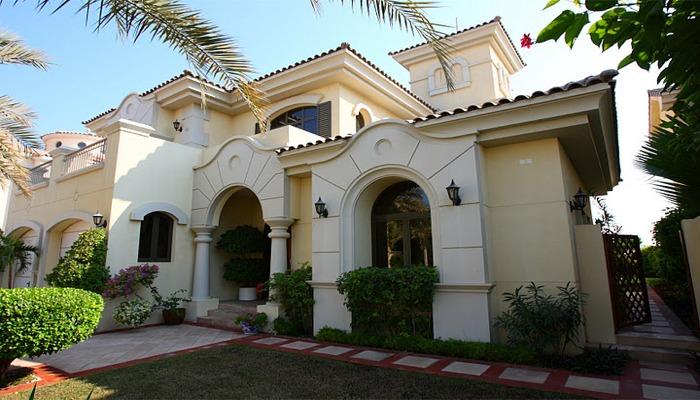 4 Bedroom Jumeirah Palm Luxury Villa Rental On Frond K, Dubai