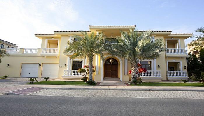Luxury 5 Bedroom Holiday Villa On Frond K Of The Dubai Palm