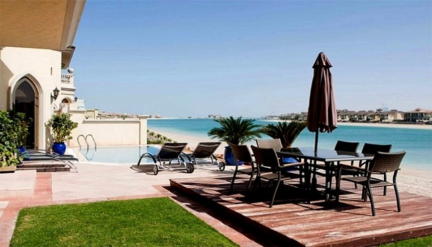 Holiday Villas to Rent in Jumeirah Palm